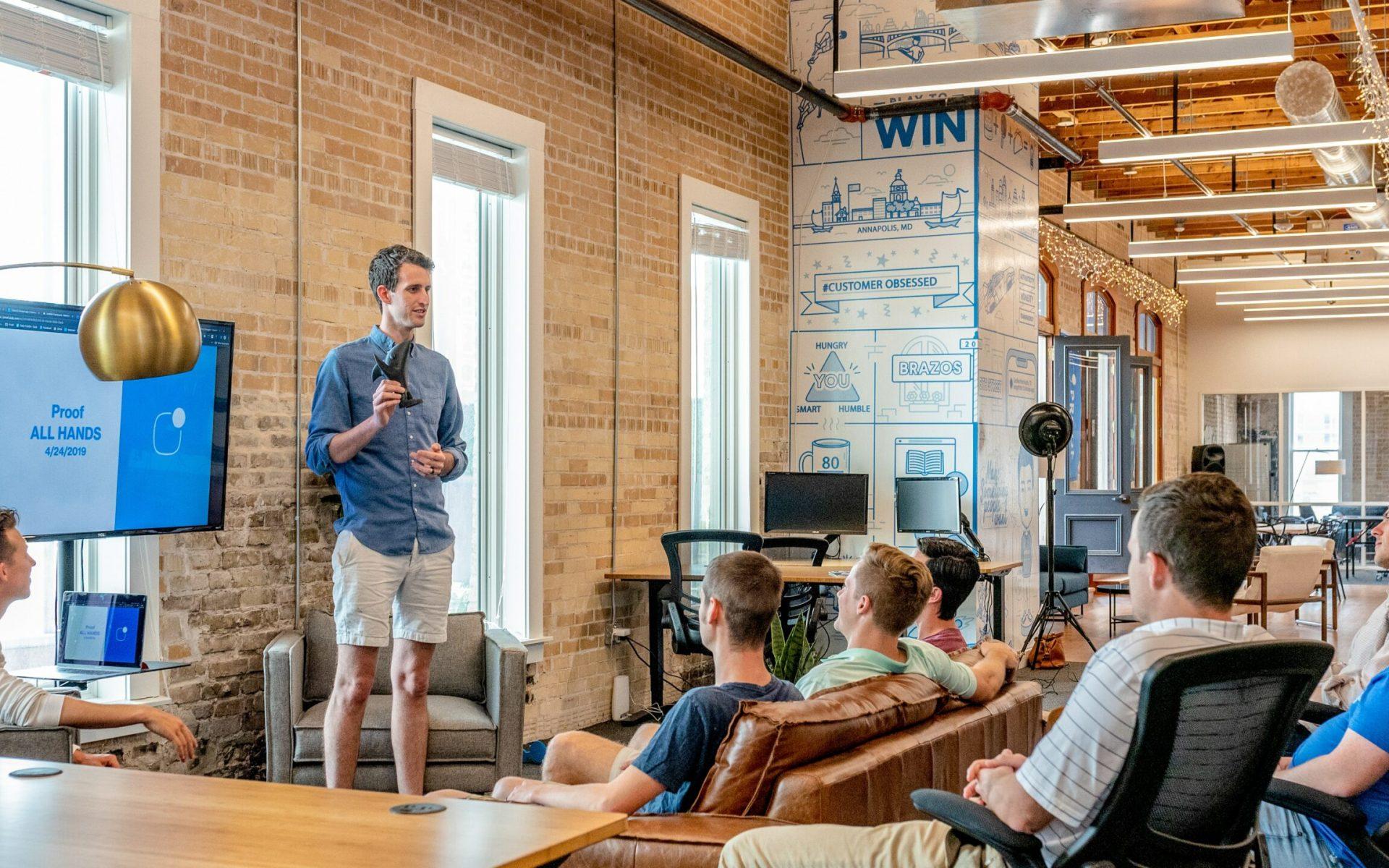 startup workers temp contractors